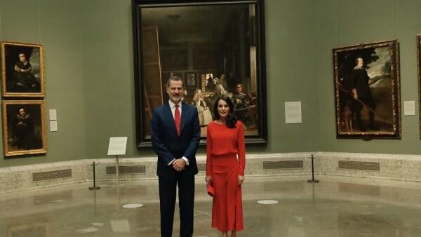 Rey Felipe VI y la reina Letizia