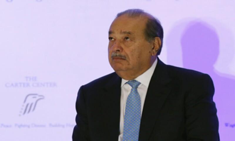 La familia de Carlos Slim está en conversaciones sobre  los derechos de suscripción de uno de los grupos de construcción más importantes de España.   (Foto: AFP )