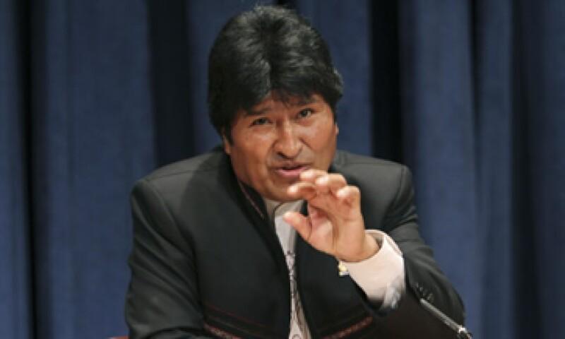 El presidente Evo Morales expulsó en 2008 a al embajador estadounidense Philip Goldberg.   (Foto: AP)