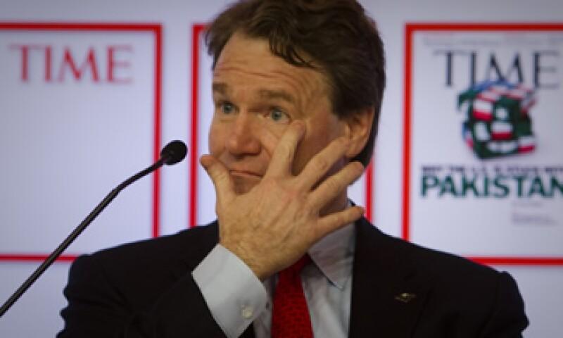 Bank of America entregó 8.1 millones de dólares a su CEO, Brian Moynihan, el año pasado. (Foto: AP)