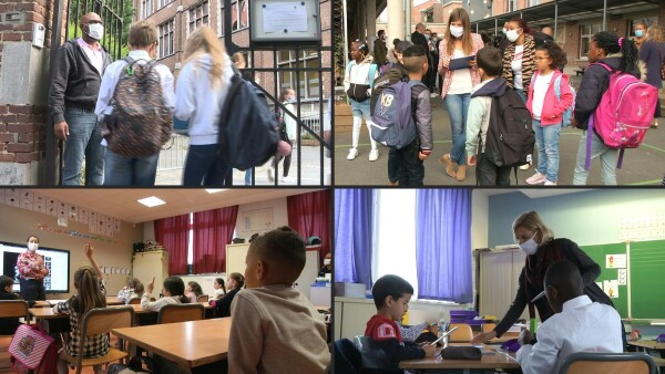 Los niños en Europa vuelven a clase tras seis meses caóticos por el coronavirus