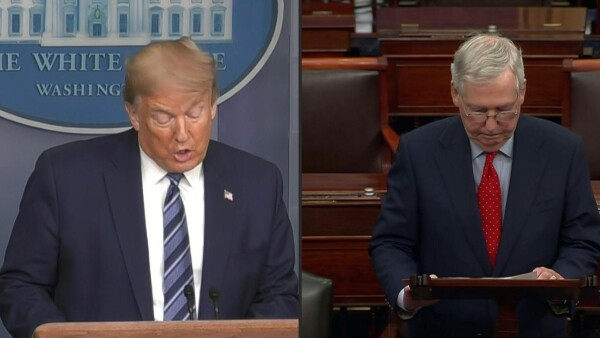 Donald Trump suspenderá migración por dos meses a causa de la pandemia