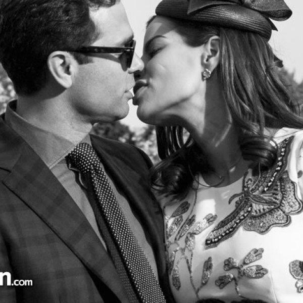 Alejandro Hank y Bárbara Coppel