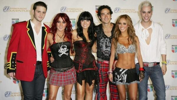 Hace tres años RBD anunció su separación.