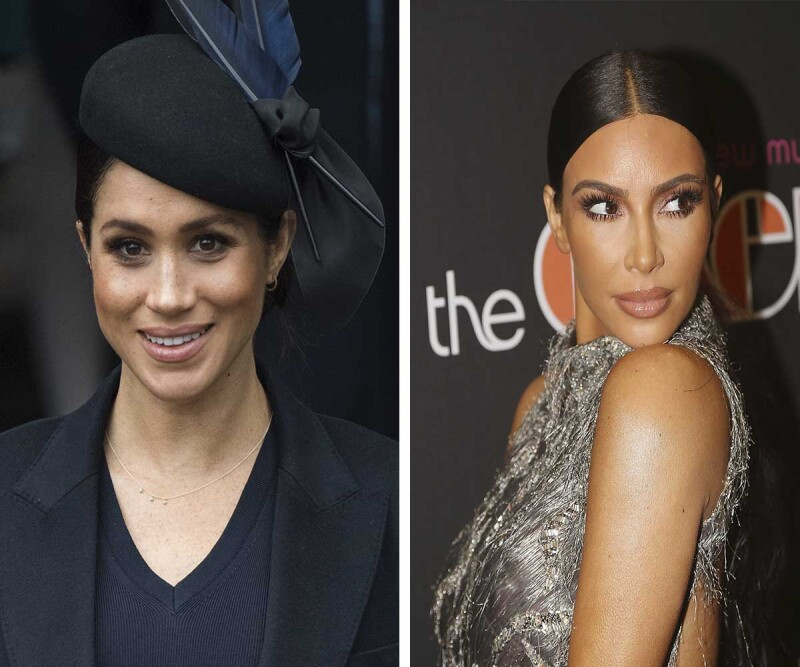Meghan y Kim Kardashian