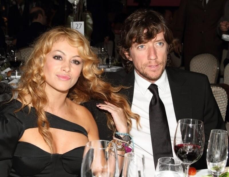 Nicolás pretendía celebrar al pequeño Andrea Nicolás la semana pasada, pero a la fiesta que le armó Paulina Rubio no fue invitado.