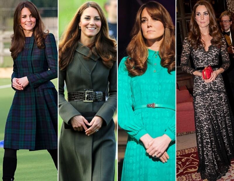 La moda de Kate Middleton jala miradas.