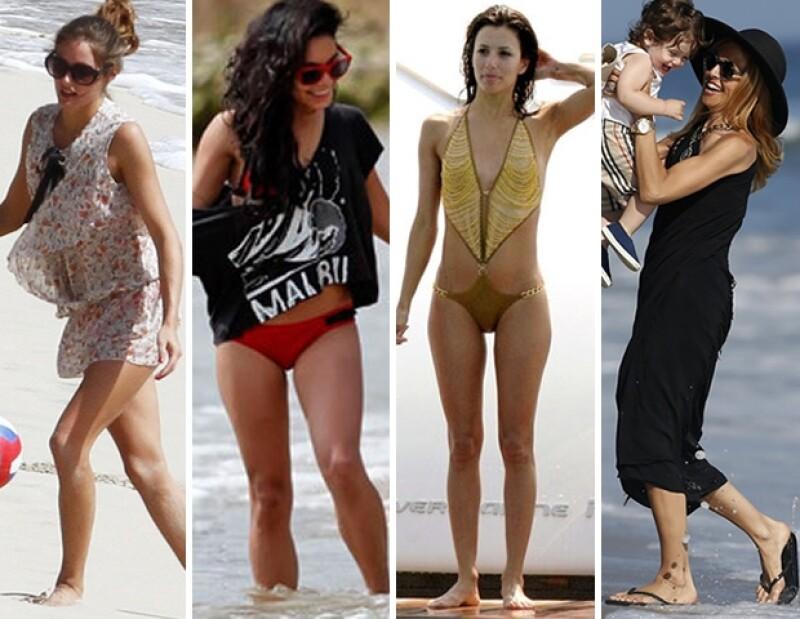 ¡A la playa con estilo! para este fin de verano no hay pretexto para no lucir fabulosa, donde quiera que vayas.