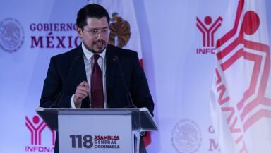 Carlos Martínez, director Infonavit