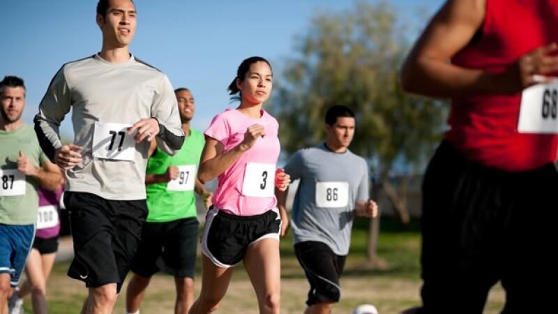 correr entrenar