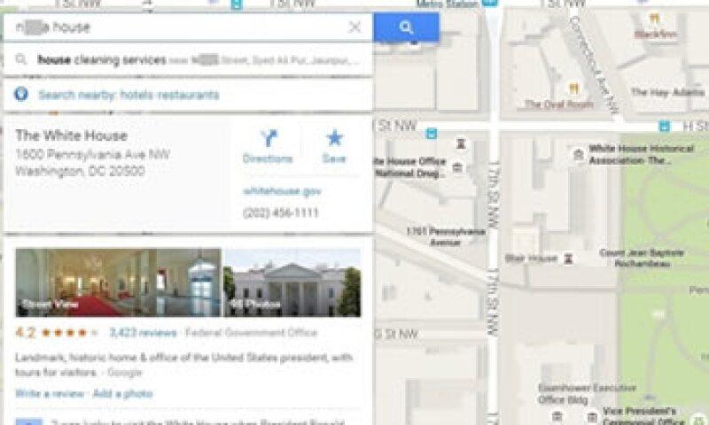 Este es el problema que reportaron los usuarios este miércoles. (Foto: Google Maps )