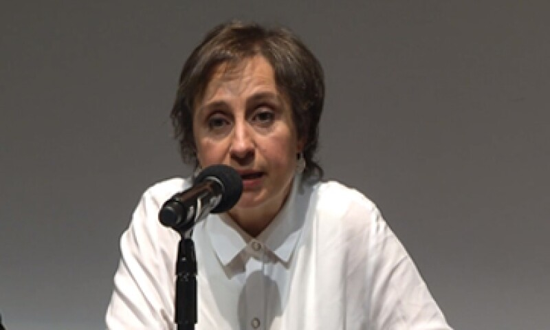 MVS dijo que sus abogados ya revisan el supuesto desvío de recursos que hizo la periodista Carmen Aristegui.  (Foto: Cuartoscuro )
