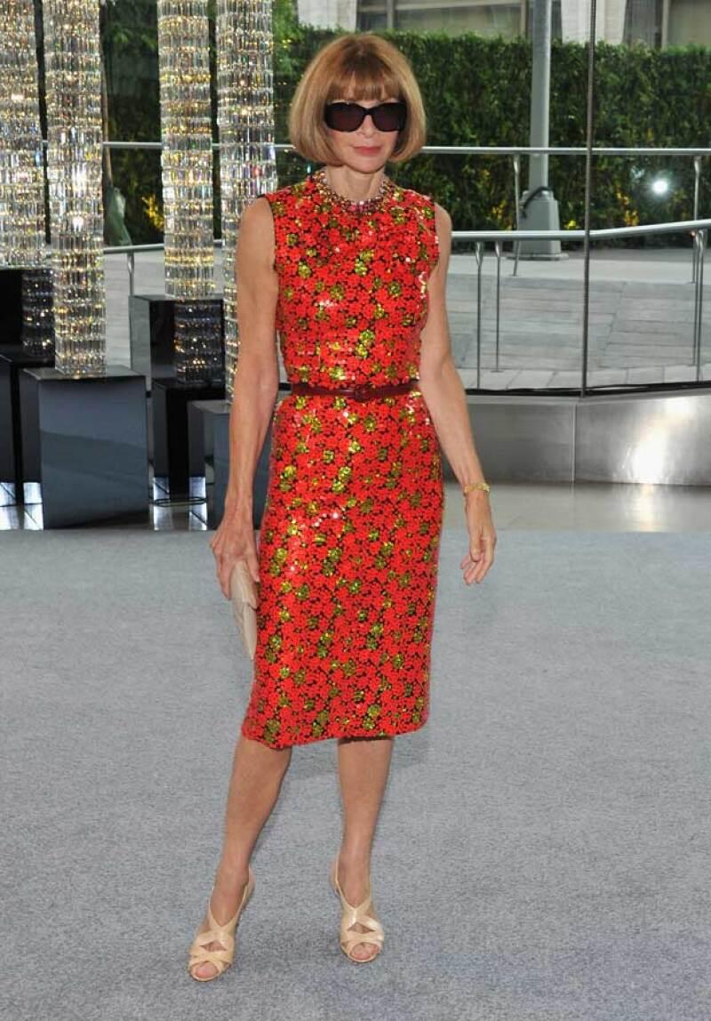 Anna Wintour lleva usando el mismo diseño de zapatos desde 1994.