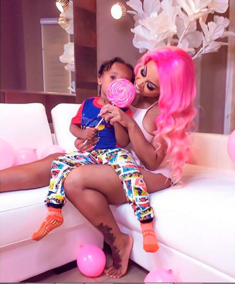 El niño es fruto de la relación que el rapero mantuvo por cuatro años con la modelo de hip hop Blac Chyna.