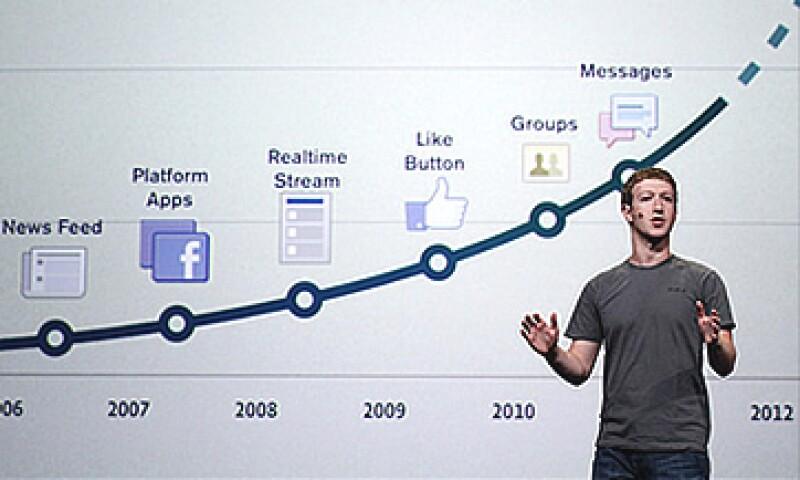 Los cambios de Facebook se dieron a conocer en la conferencia anual 'f8'. (Foto: Cortesía CNNMoney)