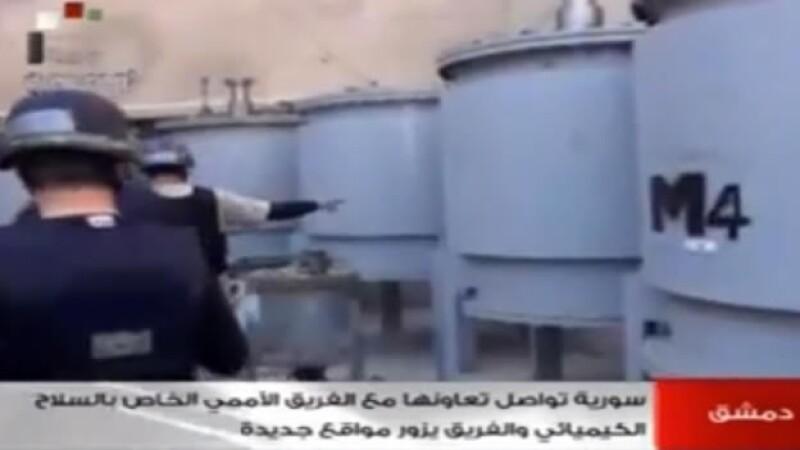 Inspectores de armas químicas