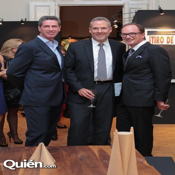 Miguel Ortiz Monasterio, José Tabachnik, Pablo Creel