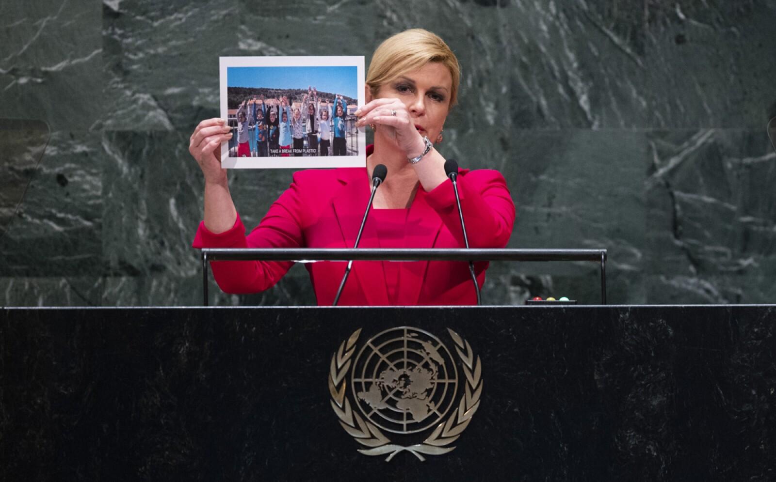 Presidenta de la República de Croacia