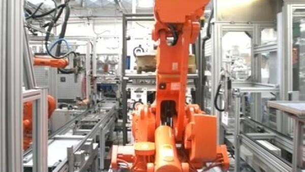 brazo robotizado autopartes