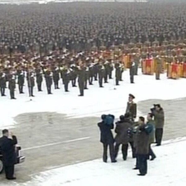 kim jong il funeral corea norte korea north