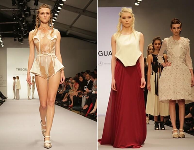 El trío de Buenos Aires presentó su colección en Mercedes-Benz Fashion Week México.