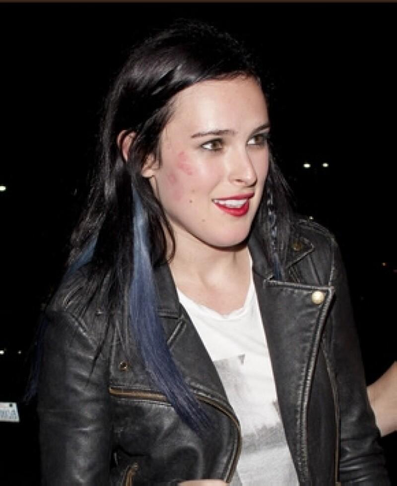La hija de Demi y Bruce ha sido vista con Jayson Blair en actitud muy cariñosa.