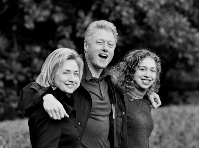 Hillary dijo que se quedó con ganas de tener otro hijo. Aquí con Chelsea.