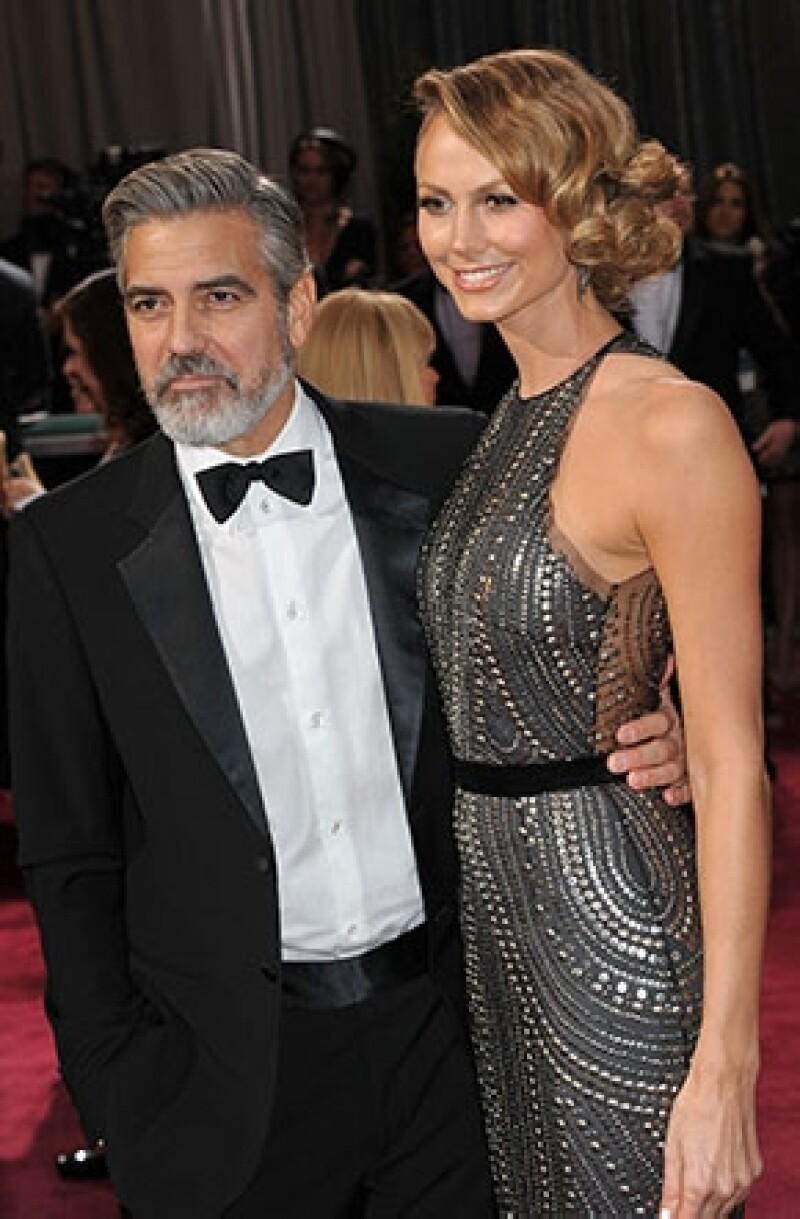 George Clooney vuelve a formar parte de los solteros de oro de Hollywood, tras terminar su relación con la guapa Stacy Keibler.