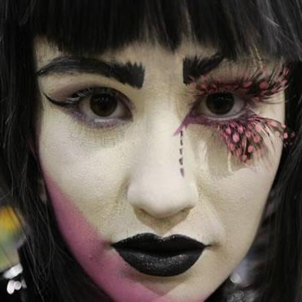 Rowan Weir, disfrazada singularmente en el Comic-Con