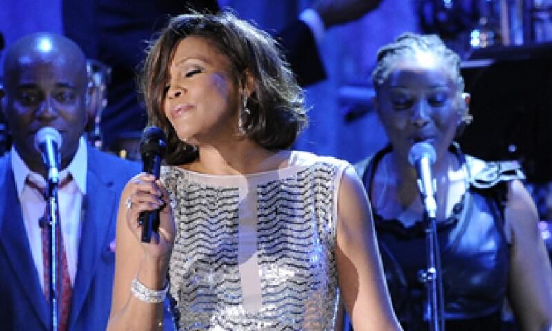 Whitney Houston murió el sábado 11 a los 48 años de edad en California. (Foto: AP)