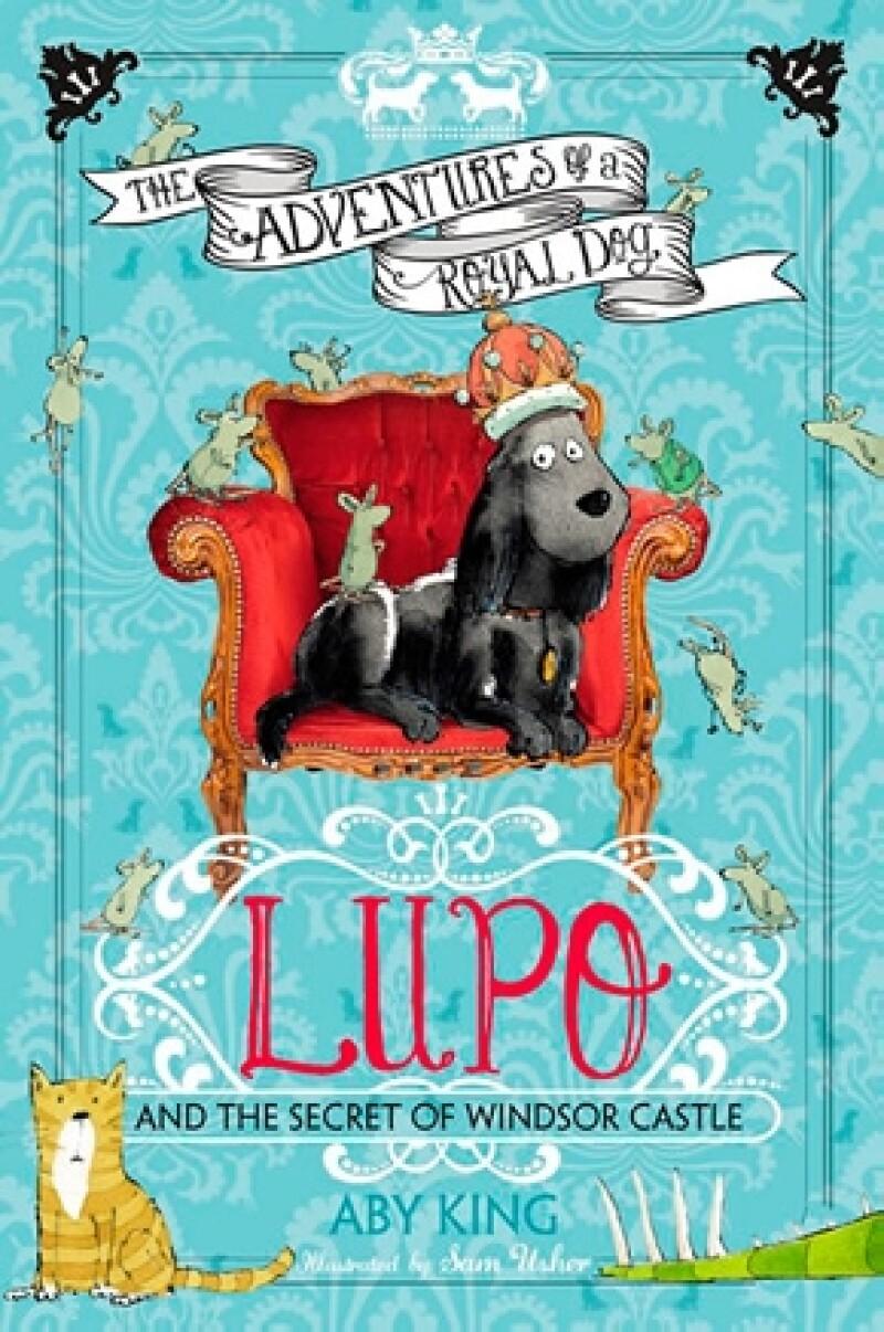 Este es la portada del cuento de Lupo.