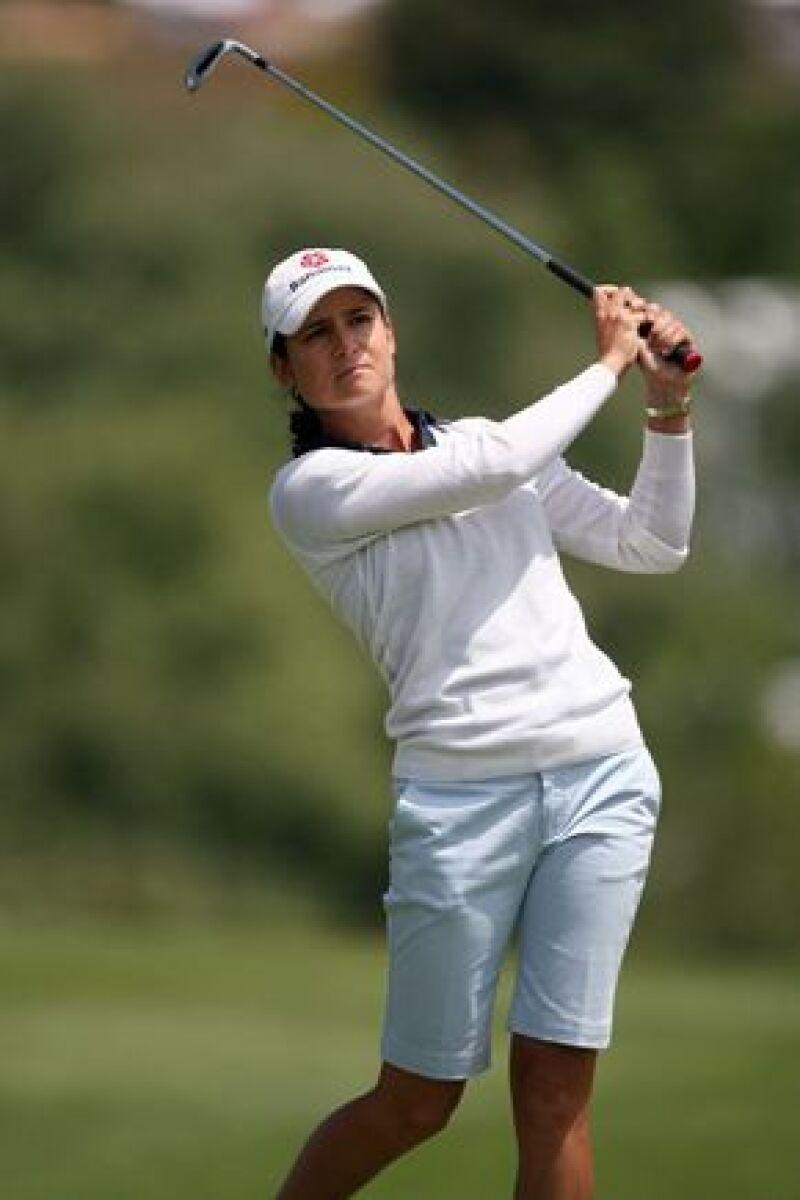 La mexicana lidera la clasificación mundial de la Asociación Femenil de Golfistas Profesionales al mantenerse ahí durante 104 semanas seguidas, con un promedio de 13.97.