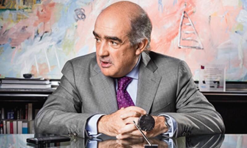 Luis Téllez dijo que el mercado de valores está listo para financiar proyectos derivados de la reforma energética. (Foto: Alfredo Pelcastre)