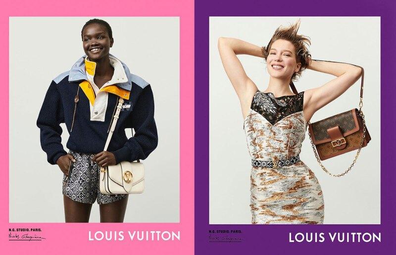 Foto: Louis Vuitton FW20, Akon Changkou y Léa Seydoux