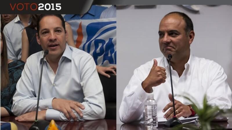 Candidatos en Querétaro