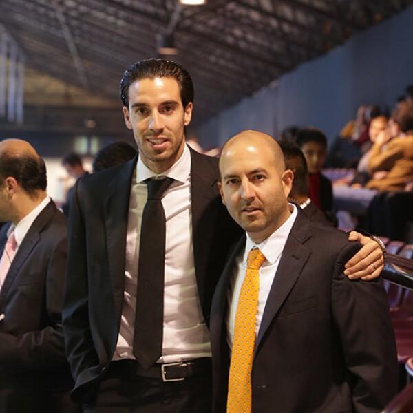 Sergio Pérez y Pablo Povera