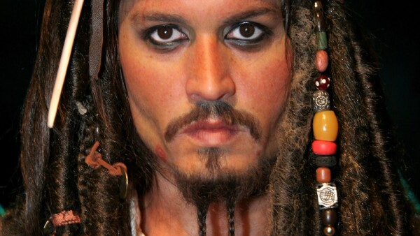 """Pirates of the Caribbean"" Johnny Depp Wax Figure Unveiling at Madame Tussauds in New York City - July 5, 2006"