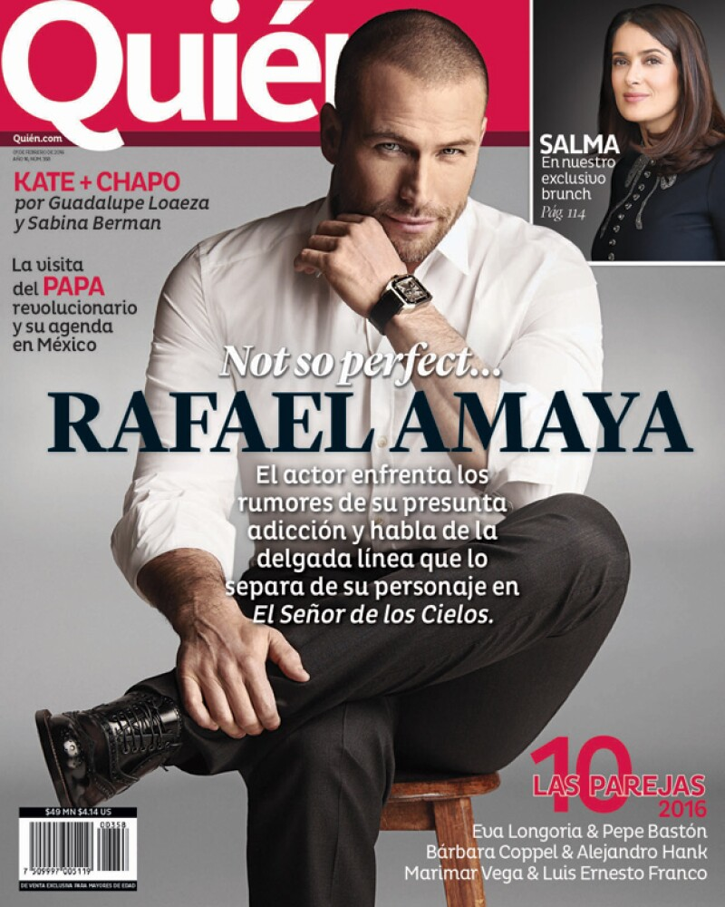 7cce6b40622ae Rafael Amaya en portada... no tan