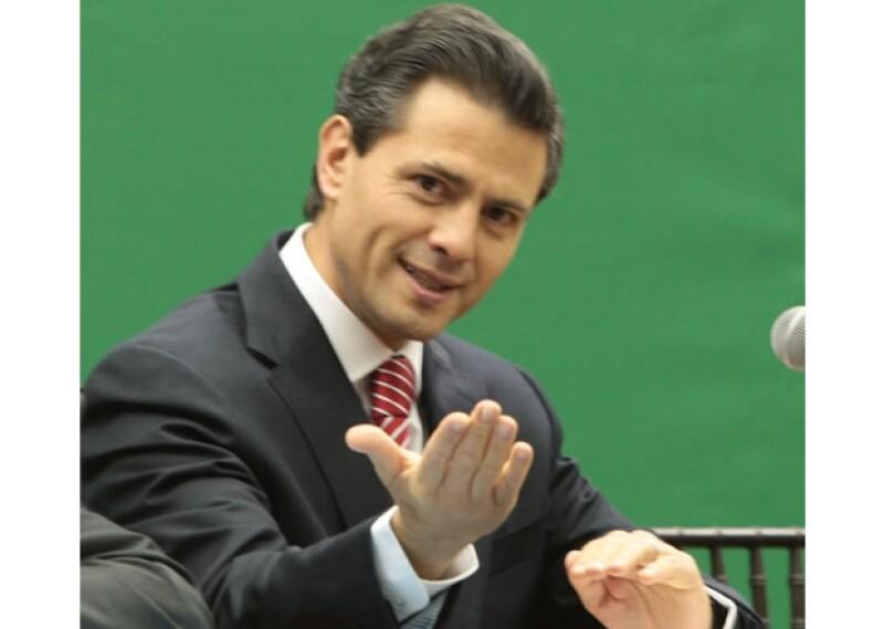 Enrique Peña Nieto presentó su libro `México, la gran esperanza´.