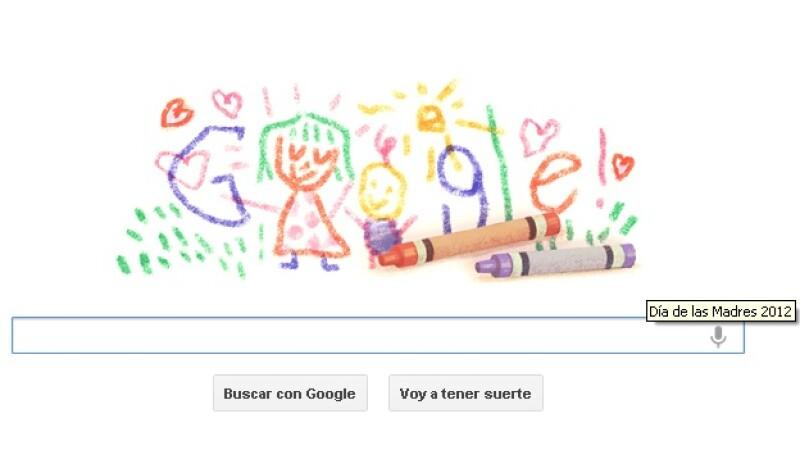 google doodle dia de las madres