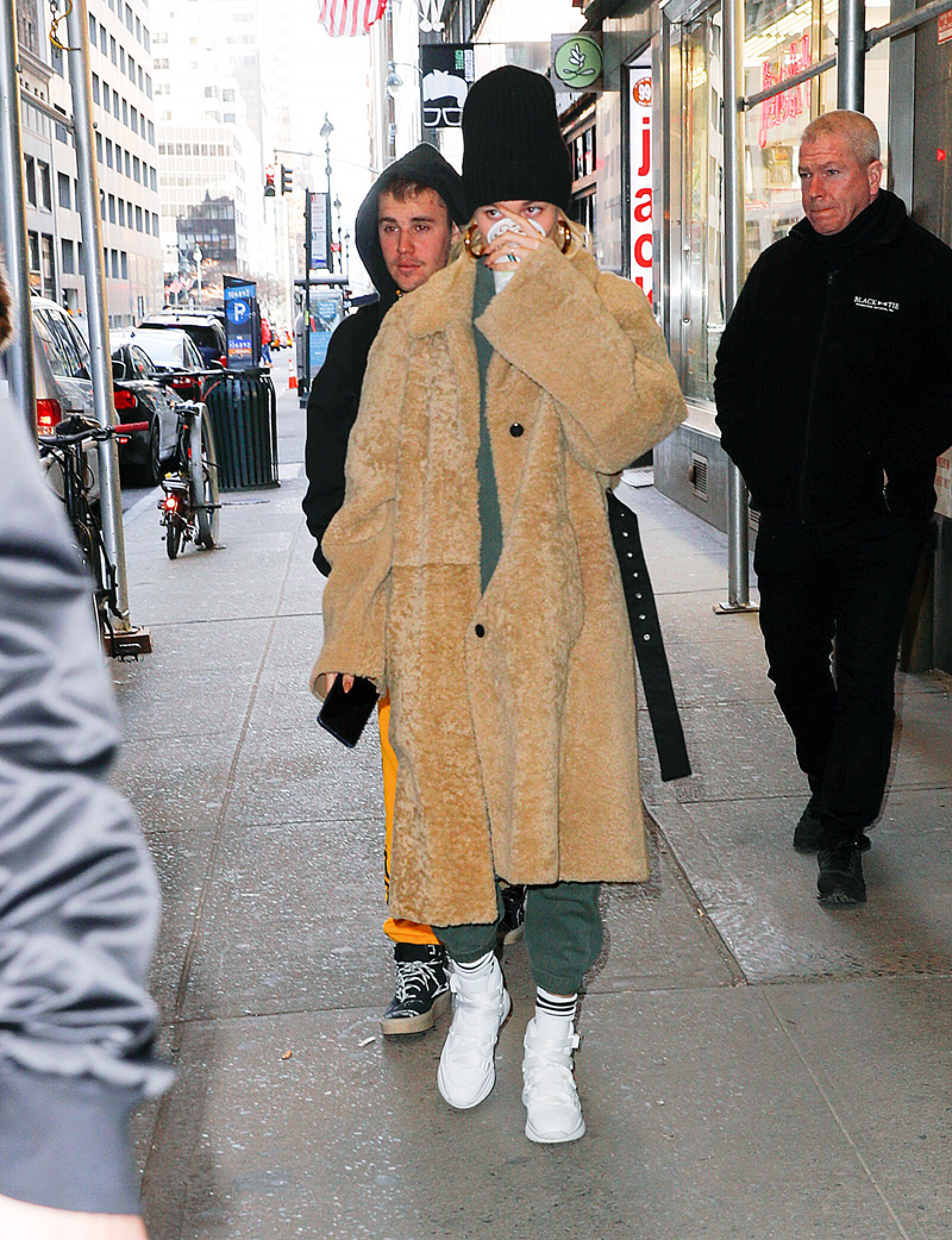 Celebrity Sightings In New York City - February 17, 2019