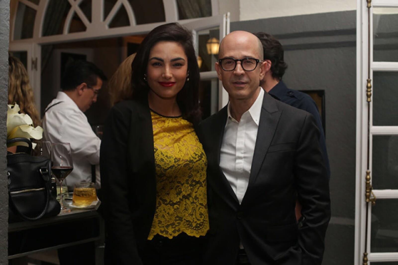 Itahisa Machado y Francisco Herrera