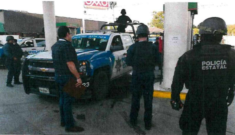 SSP Tamaulipas gasolina