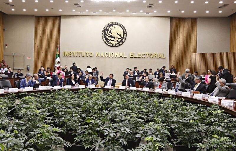 Entre los puntos tratados por el Consejo General del INE está la forma y contenido de las listas nominales para la elección del 5 de junio.