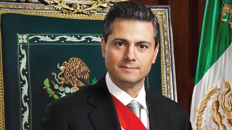 Presentan Foto Oficial De Peña Nieto Como Presidente De México