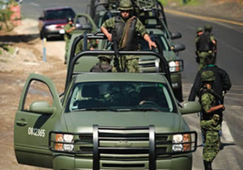Las fuerzas armadas se han convertido en una de las áreas más atractivas para las empresas que le venden al Gobierno. (Foto: Mauricio Palos)