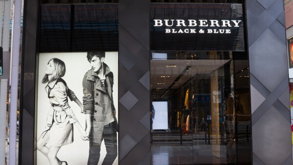 Burberry Black & Blue in Hong Kong