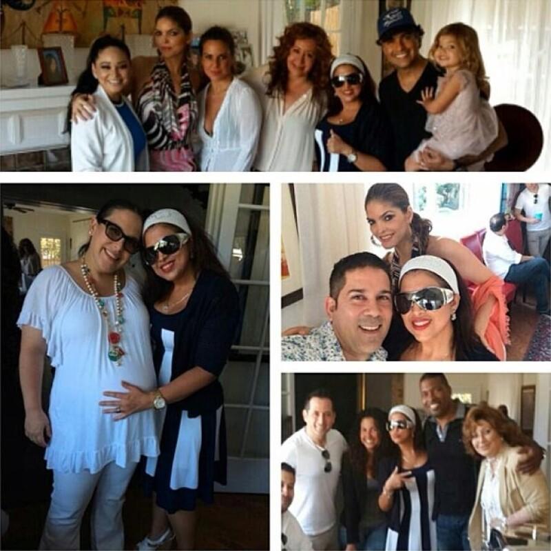 Jaime Camil y Kate del Castillo fueron algunos de los invitados famosos al festejo.
