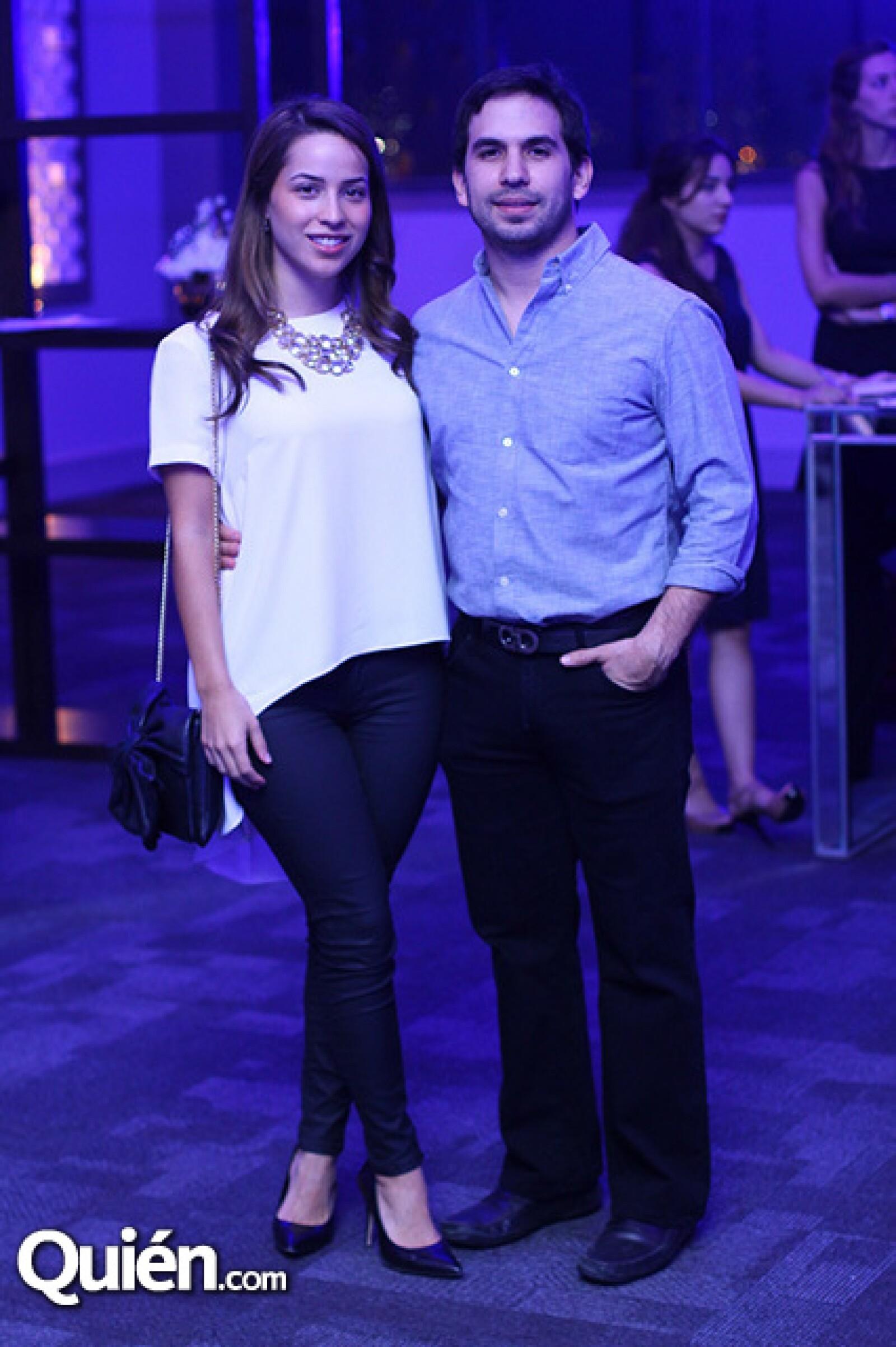 Fernanda Miguel y Alberto Treviño