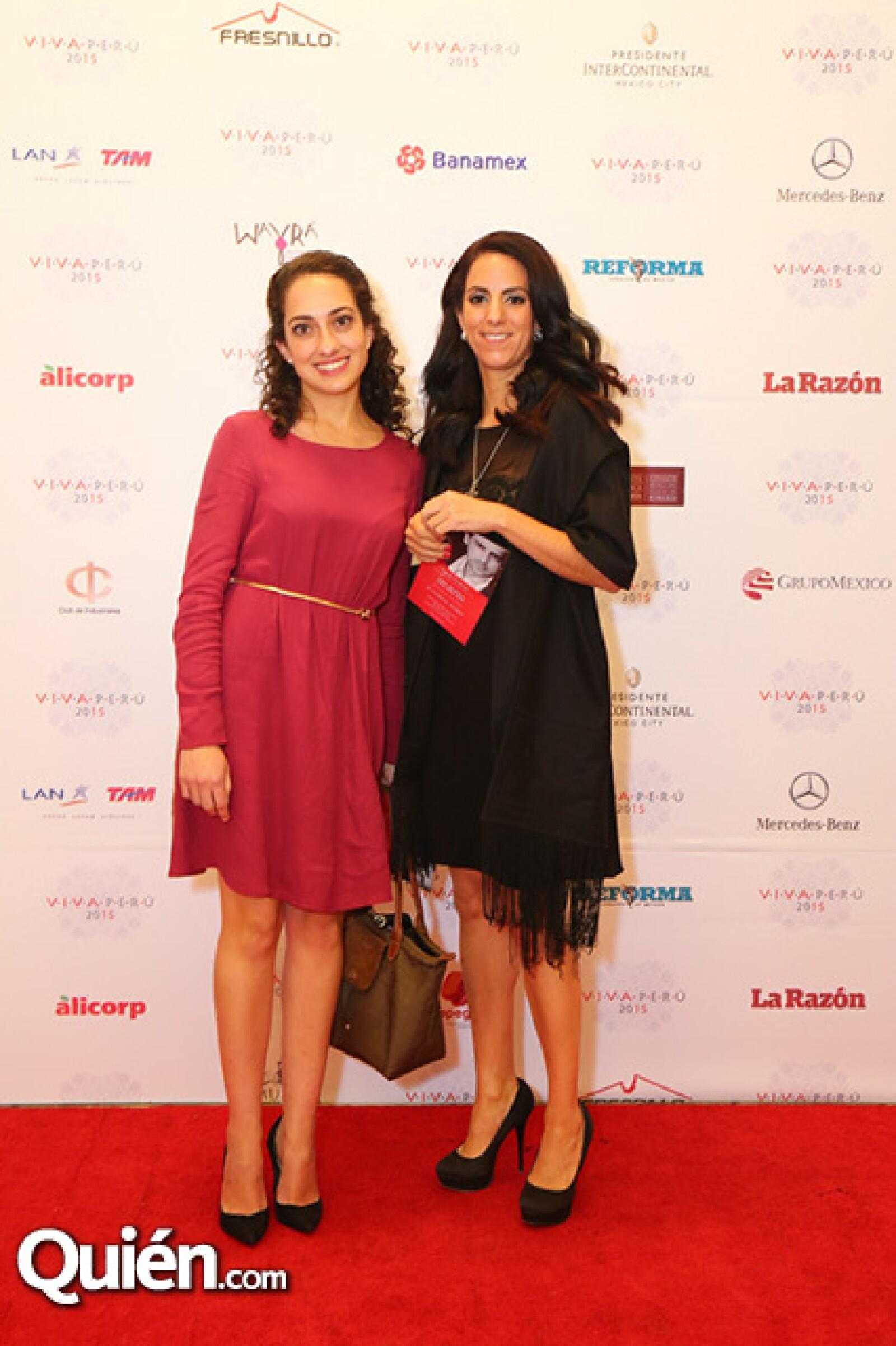 Andrea Guerra y Pilar Espinosa